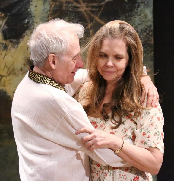 Austin Pendleton and Katharine Cullison