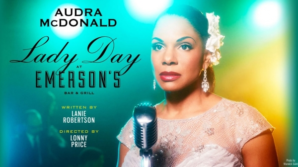 Photo Flash: First Look at Audra McDonald as Billie Holiday in LADY DAY AT EMERSON'S BAR AND GRILL Artwork!