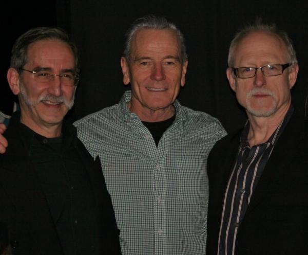 David Goodman, Bryan Cranston, Robert Schenkkan Photo
