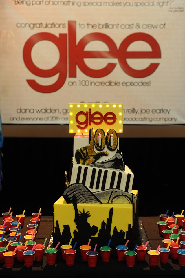 Behind The Scenes Of GLEE's 100th Episode