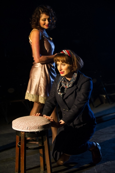 Frances Ruffelle (Bella) and Isy Suttie (Mrs P)