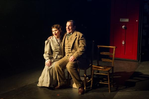 Frances Ruffelle (Bella) and Michael Matus (Sandor)