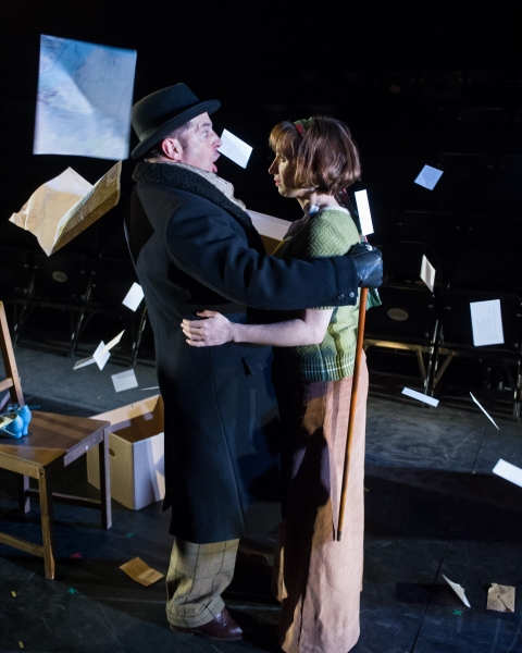 Michael Matus (Sandor) and Isy Suttie (Mrs P)