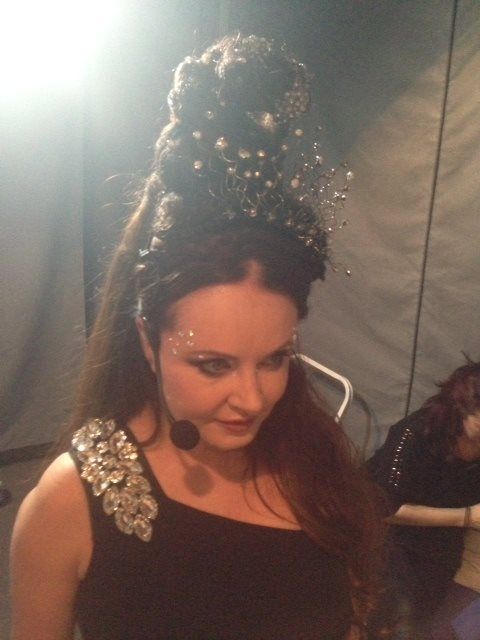 Backstage View Of Sarah Brightman On DREAMCHASER International Tour