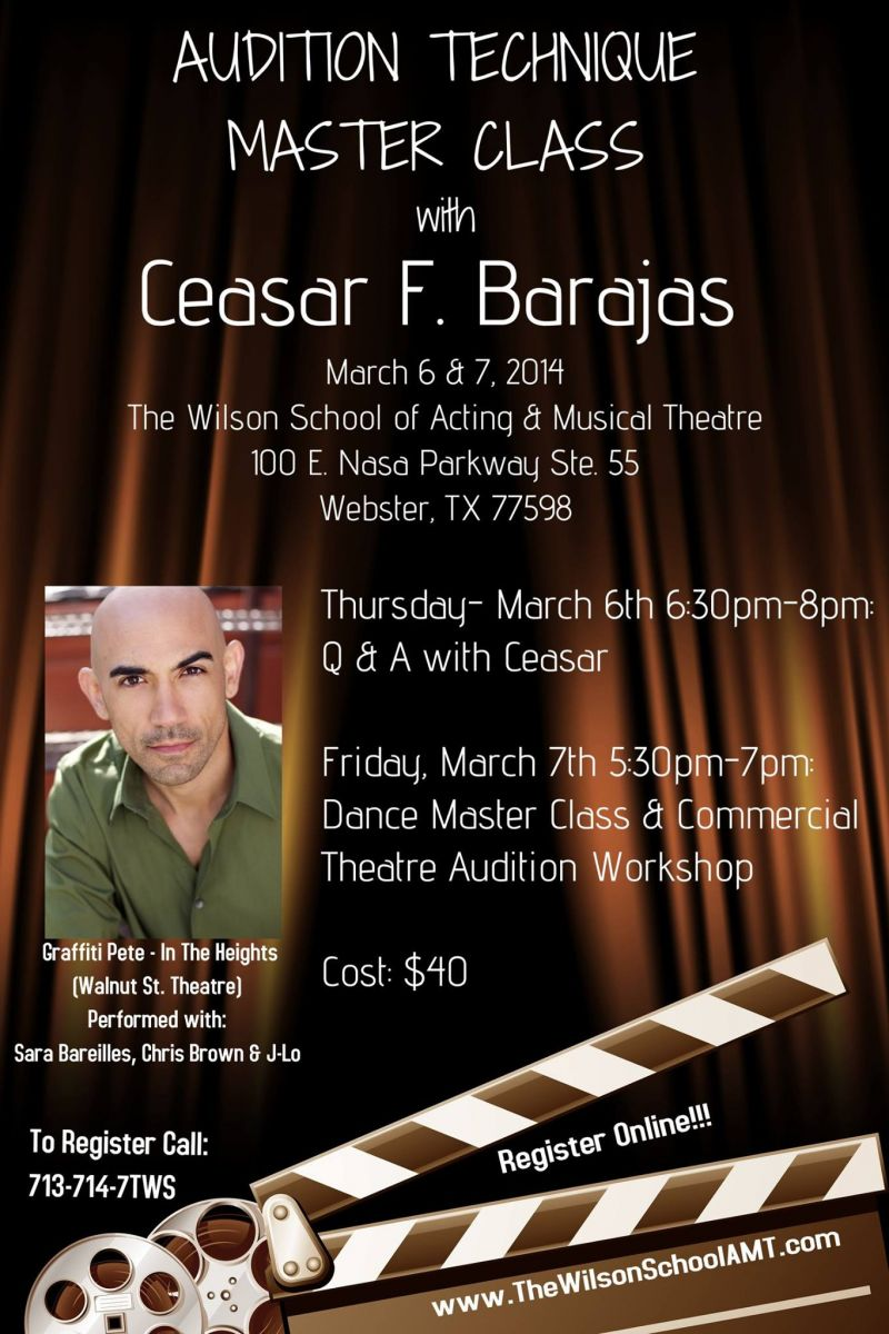 BWW Interviews: Ceasar Fernando Barajas Talks His Career and Teaching