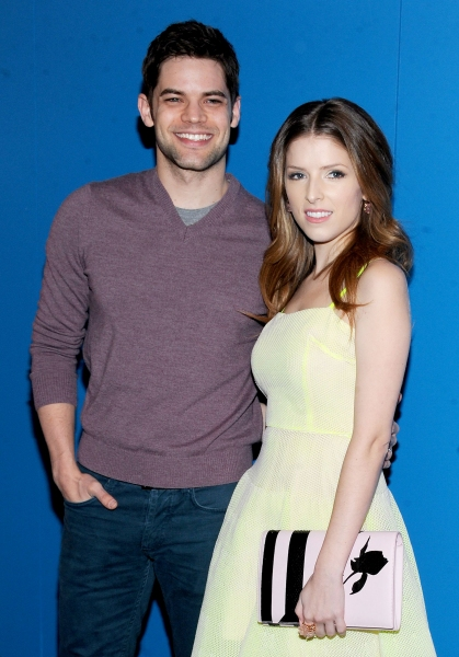 Mandatory Credit: Photo by Picture Perfect/REX USA (1925805p)Jeremy Jordan and Anna Kendrick''The Last Five Years'' film screening, New York, America - 24 Feb 2014