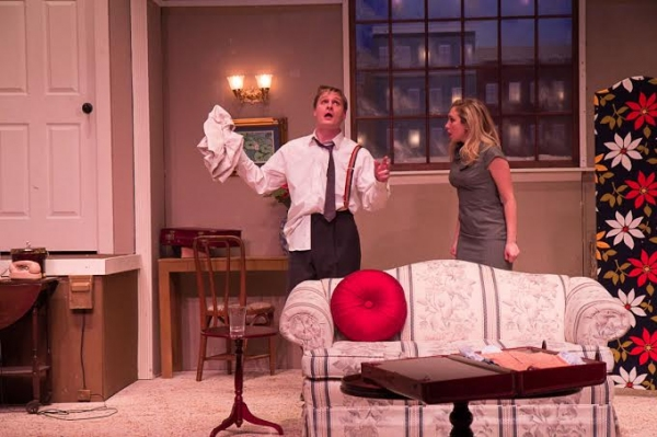 Photo Flash: New Production Shots From TheatreWorks' BAREFOOT IN THE PARK