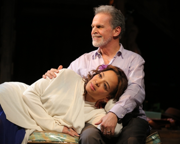 LAUREN VELEZ and Tony Plana