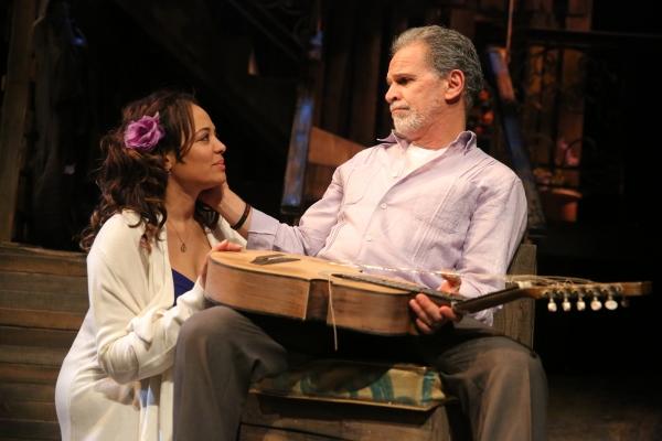 LAUREN VELEZ and Tony Plana Photo