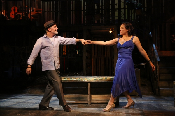 Tony Plana and Lauren Velez Photo