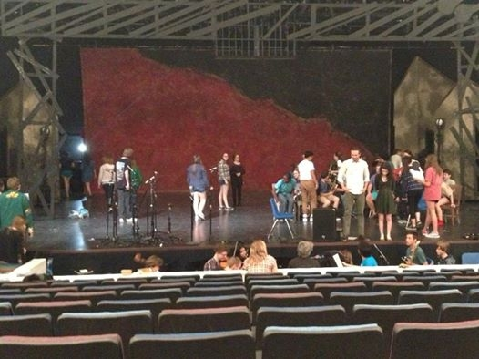 Photo Coverage: Rehearsal Shots from LES MISERABLES at McCallum Fine Arts Academy