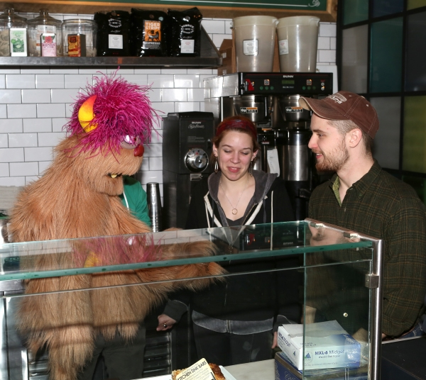 Employees with Jason Jacoby & Trekkie Monster