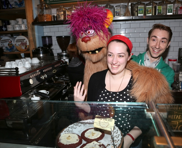Photo Coverage: AVENUE Q's Trekkie Monster Serve Sweet Treats at Schmackary's