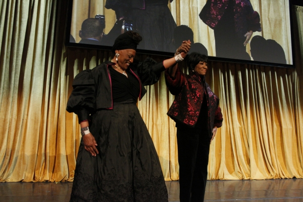 Honoree Patti LaBelle and Jessye Norman