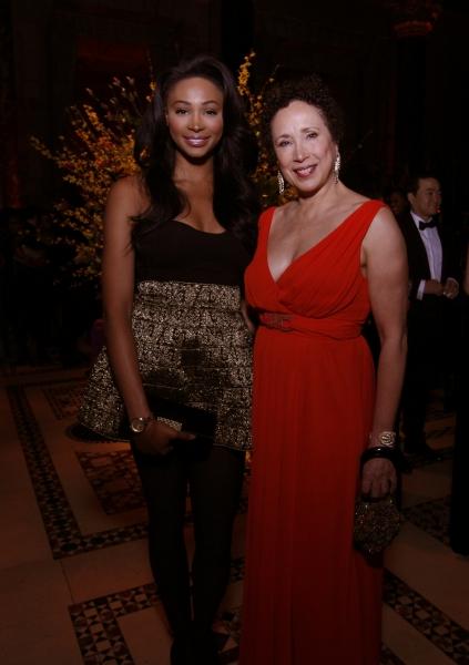 Virginia Johnson and Nana Meriwether, Miss USA 2012 Photo