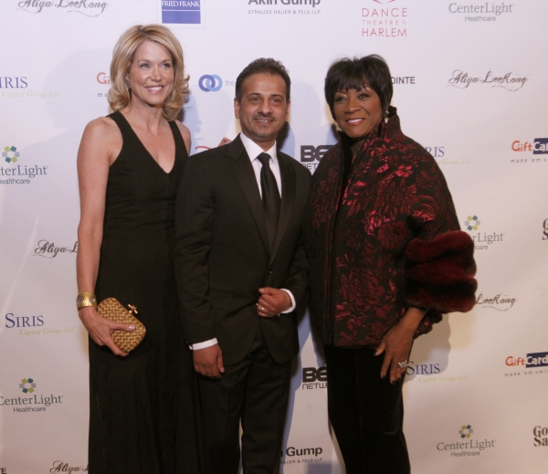Paula Zahn, Laveen Naidu, and Honoree Patti LaBelle