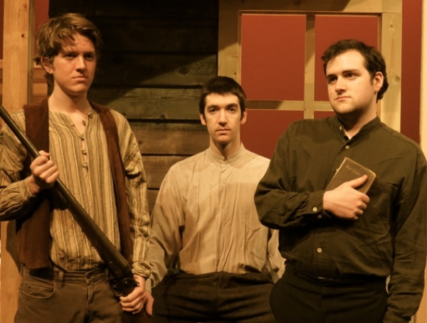 Austin Bennett as Zachariah Rowan, Robert Bergin as Patrick Rowan, Nathaniel Whitehouse as Ezekiel Rowan