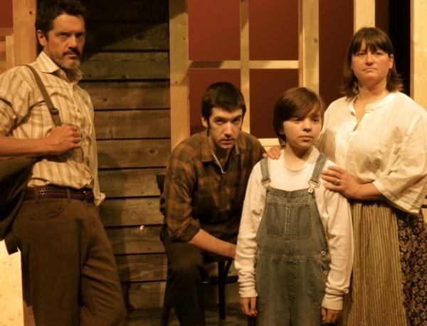 Sam McJunkin as Abe Steinman, Robert Bergin as Tommy Jackson, Josh Moff as Joshua Row Photo