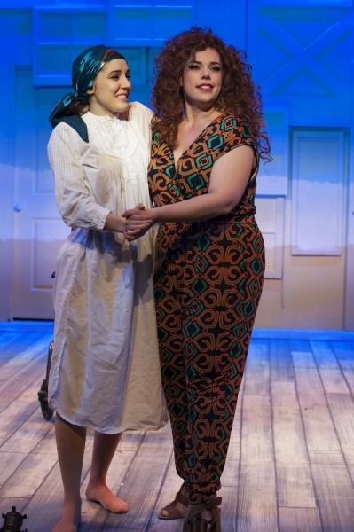 Mara Davi and Alysha Umphress