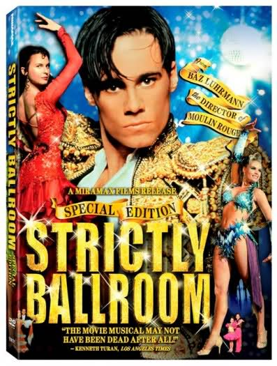 FLASH FRIDAY: Baz Luhrmann's STRICTLY BALLROOM Waltzes & Rhumbas To The Stage!
