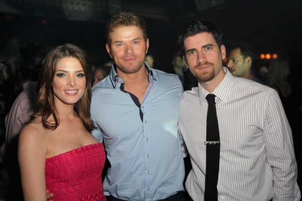 Ashley Greene, Kellan Lutz and Ryan Rottman