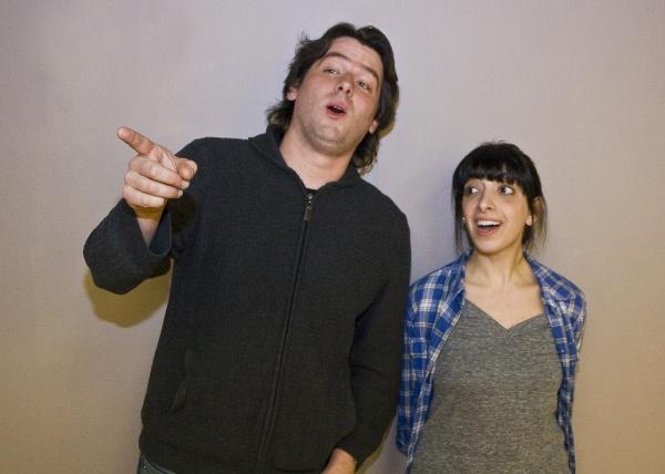Evan Donnellan and Michelle Torres