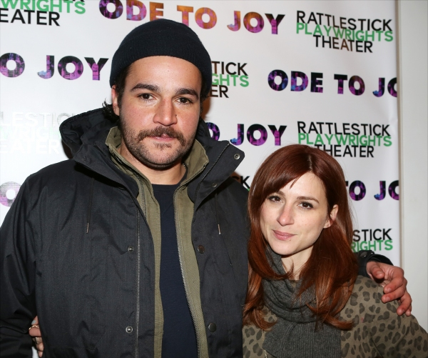 Christopher Abbott and Aya Cash