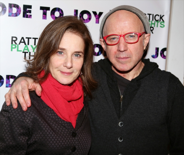 Debra Winger and Arliss Howard