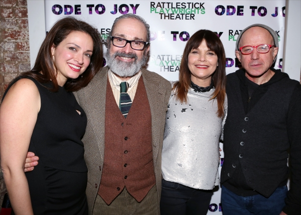 Roxanna Hope, Craig Lucas, Kathryn Erbe and Arliss Howard
