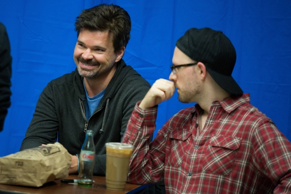Hunter Foster, Ryan Scott Oliver