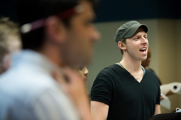 Photo Flash: Matt Doyle, Hunter Foster, Ryan Scott Oliver & More in Rehearsal for Prospect Theater's JASPER IN DEADLAND