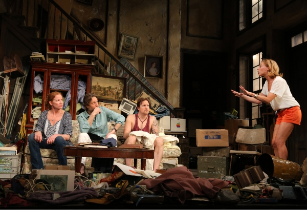 Johanna Day (Antoinette 'Toni' Lafayette), Michael Laurence (Bo), Patch Darragh (Franz), Maddie Corman (Rachel)