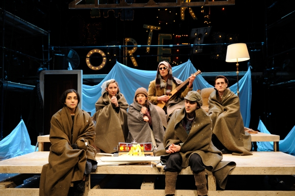 Photo Flash: First Look at Brown University/Trinity Rep MFA Program's THE SKIN OF OUR TEETH