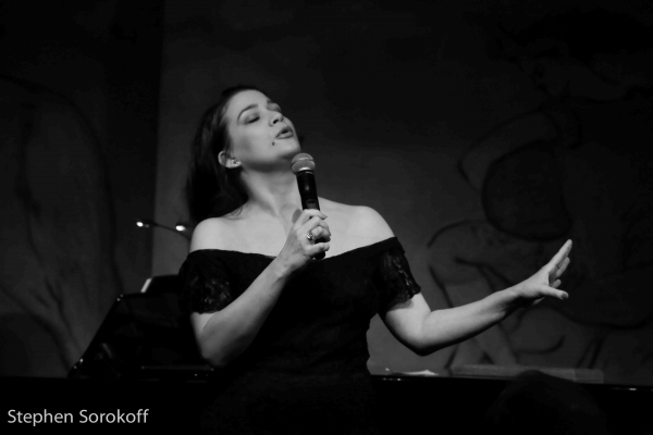 Photo Coverage: MAUDE MAGGART Plays CAFE CARLYLE