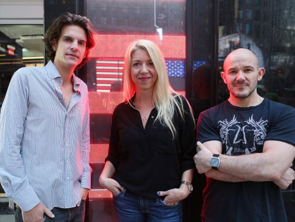 Photo Coverage: Meet ROCKY's Creative Heavyweights Alex Timbers, Steven Hoggett & Kelly Devine!