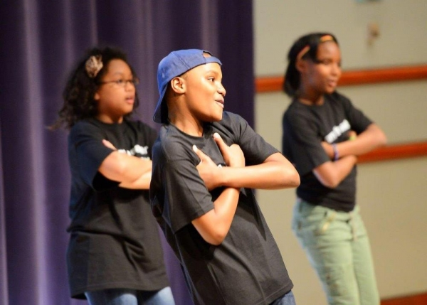 Students perform an original musical they created as part of Johnny Mercer Foundation - NJPAC Musical Theater Residency Program