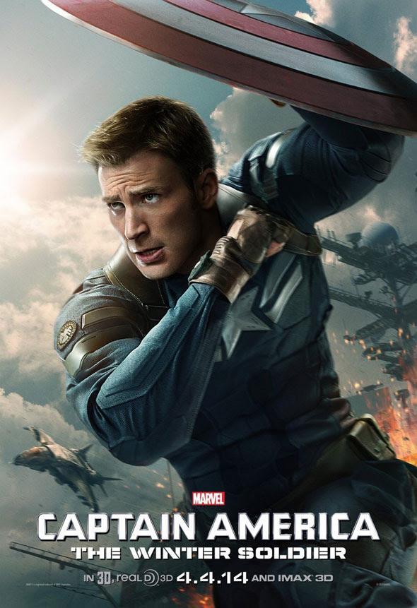 Marvel Releases New Captain America Poster!