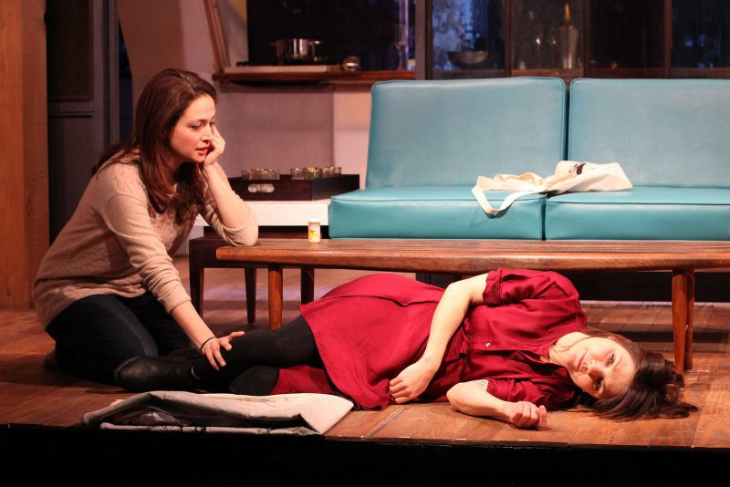 BWW Reviews:  Lucas Tackles Addiction in ODE TO JOY