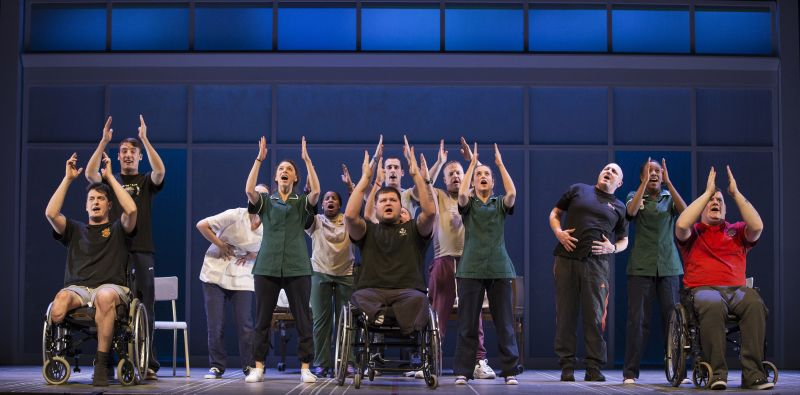 BWW Reviews: THE TWO WORLDS OF CHARLIE F is Moving, But Over Produced