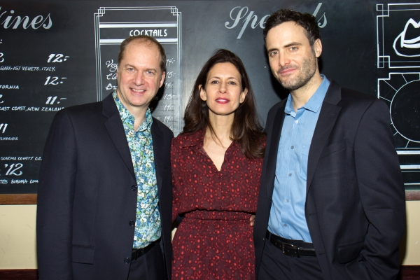 Photo Coverage Stage Kiss Opens At Playwrights Horizons