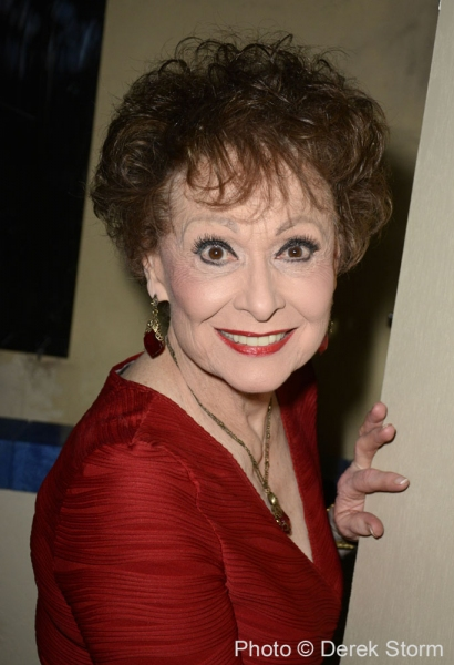Photo Flash: Original WEST SIDE STORY Cast Reunites with Carol Lawrence at HANDLE WITH CARE!