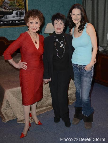 Carol Lawrence, Chita Rivera, Charlotte Cohn