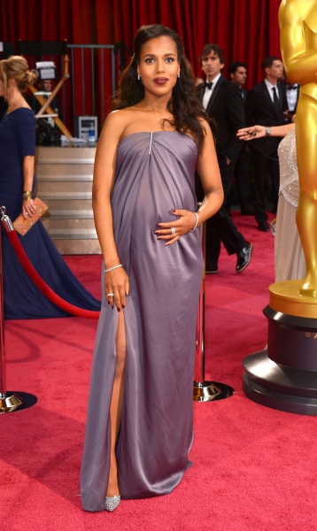 Kerry Washington at the 86th Annual Academy Awards Oscars (wearing Jason Wu)