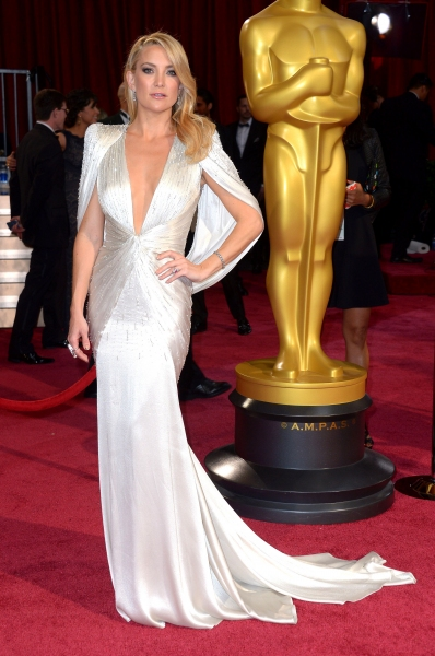 Kate Hudson at the 86th Annual Academy Awards Oscars (wearing Atelier Versace)