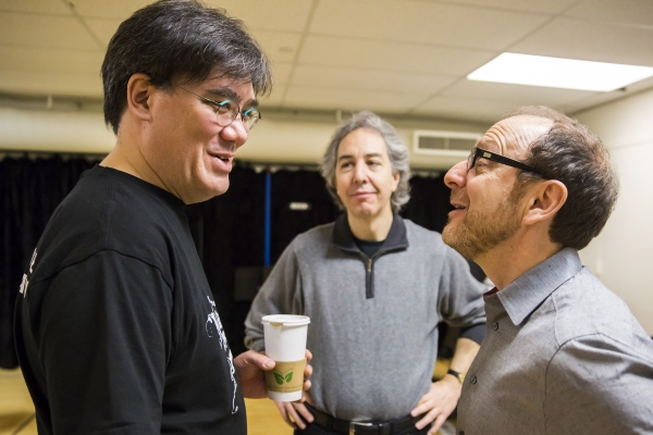 Alan Gilbert, Grant Sturiale, Lonny Price Photo
