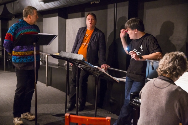 Photo Flash: In Rehearsal for New York Philharmonic's SWEENEY TODD with Emma Thompson, Bryn Terfel & More!