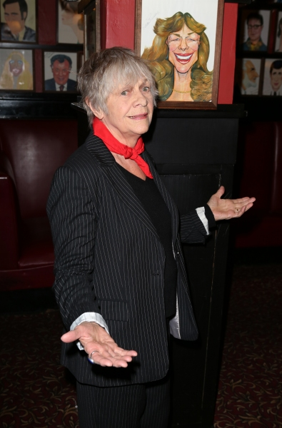 Photo Coverage: Estelle Parsons and the Company of THE VELOCITY OF AUTUMN Meet the Press!