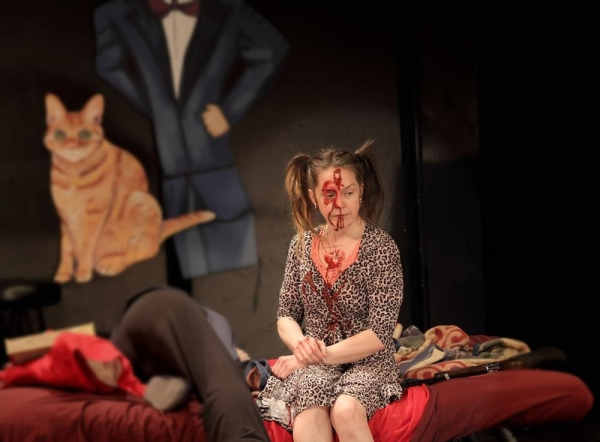 Photo Flash: First Look at Playhouse Creatures' CHARLOTTE THE DESTROYER, Running thru 3/8 at FRIGID New York