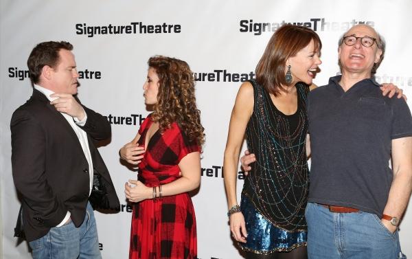 Danny McCarthy, Hannah Bos, Carolyn McCormick and Peter Friedman