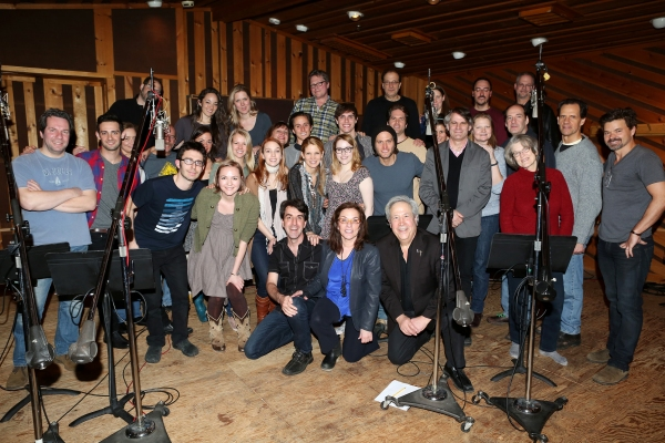 Composer Jason Robert Brown, Playwright Marsha Norman, Director Bartlett Sher with cast ensemble featuring: Kelli O''Hara, Steven Pasquale, Hunter Forster, Michael X. Martin, Cass Morgan, Caitlin Kinnunen, Derek Klena, Whitney Bashor, Ephie Aardema, Jenni